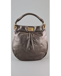 Marc By Marc Jacobs | Classic Q Metallic Hillier Hobo | Lyst