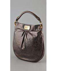 Marc By Marc Jacobs - Classic Q Metallic Hillier Hobo - Lyst