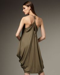 RLX Ralph Lauren - Green Pima Jersey Beach Dress - Lyst