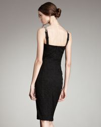 Dolce & Gabbana - White Leopard-print & Lace Dress - Lyst