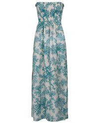 Heidi Klein | Blue Reethi Maxi Bandeau Dress | Lyst