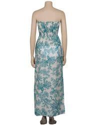Heidi Klein - Blue Reethi Maxi Bandeau Dress - Lyst