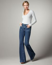 J Brand | Blue Bette Mystery High-rise Flared Jeans | Lyst