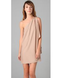 Rachel Zoe | Natural Debbie Grecian Wrap Dress | Lyst