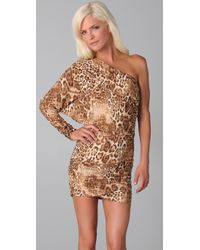 Torn By Ronny Kobo | Natural Hilary Leopard Dress | Lyst
