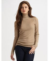 Tory Burch | Brown Caleb Turtleneck | Lyst