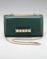 Valentino | Blue Vava-voom Convertible Bag, Teal | Lyst