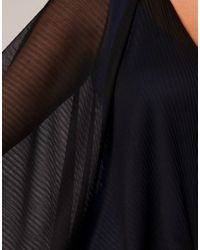 ASOS Collection - Black Asos Curve Pleated Wrap Cover Up - Lyst