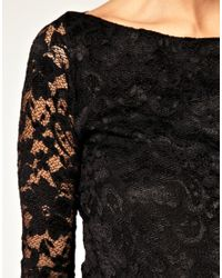 ASOS Collection | Black Asos Maternity Lace Dress | Lyst