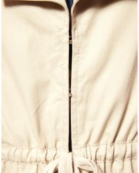 ASOS Collection - Natural Asos Petite Jacket Mac - Lyst