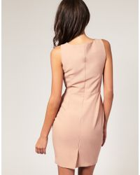 ASOS Collection | Natural Asos Petite Tailored Pencil Dress | Lyst