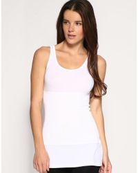 Yummie By Heather Thomson - White Control Undercover Long Line Camisole - Lyst