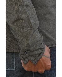 Comune - Green The Ford Henley in Dark Olive for Men - Lyst
