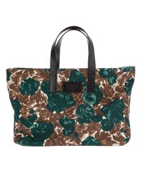 Dolce & Gabbana | Green Floral Tote Bag | Lyst