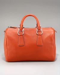 Ferragamo | Orange Isabel Doctor Bag | Lyst