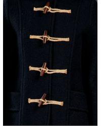 Gloverall - Blue Short Duffle Coat - Lyst