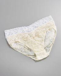 Hanky Panky | White Signature Lace V-kini Briefs | Lyst