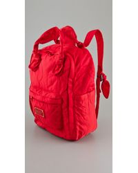 Marc By Marc Jacobs | Red Pretty Nylon Knapsack | Lyst