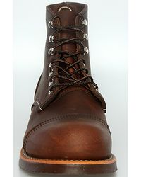 Red Wing | Brown Iron Ranger Boot, Amber Harness for Men | Lyst