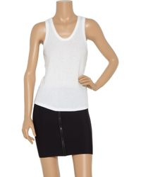 T By Alexander Wang - Black Oversized Tank Top - Lyst