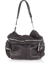 Alexander Wang | Black Jane Zip-detailed Leather Tote | Lyst