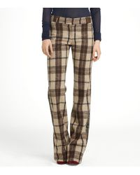 Tory Burch | Brown Andres Pant | Lyst