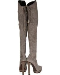 Gucci - Black Alyona High-heel Over-the-knee Boot - Lyst