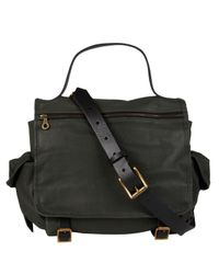 Jas MB | Black Green Riley Leather Satchel Bag | Lyst