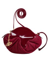 Vivienne Westwood | Brown Bordeaux Cross Body Glitter Bag | Lyst