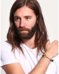 ASOS Collection - Brown Asos Bent Key Bracelet for Men - Lyst