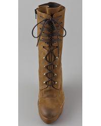 Boutique 9 - Brown Bojana Platform Wedge Boots - Lyst