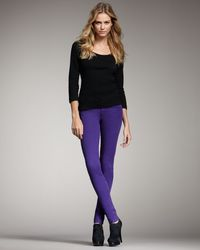 Joe's Jeans | Chelsea Skinny Pants, Purple | Lyst