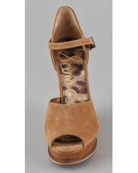 Sam Edelman - Brown Javi Sandals - Lyst