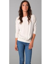 Velvet By Graham & Spencer | Natural Vista Top | Lyst