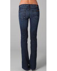 7 For All Mankind - Blue Kaylie 5 Pocket Jeans - Lyst