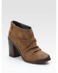 Boutique 9 | Brown Shale Slouchy Booties | Lyst