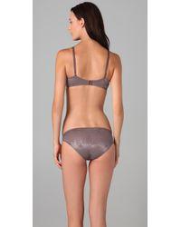 Calvin Klein | Gray Seductive Comfort Contour Bra | Lyst