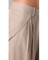 Club Monaco - Green Lina Pants - Lyst
