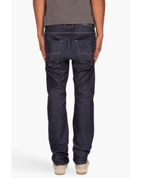DIESEL - Blue Krooley 008qm Jeans for Men - Lyst