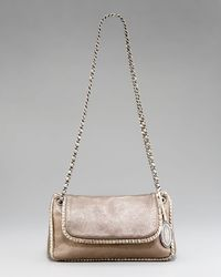Elie Tahari | Metallic Nina Chain-strap Shoulder Bag, Bronze | Lyst