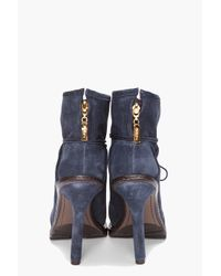 Elizabeth and James - Blue Base Bootie - Lyst