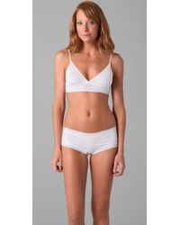 Hanky Panky | White T-shirt Bralette | Lyst