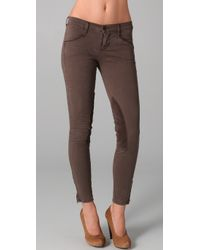 J Brand | Brown Riding Pants | Lyst