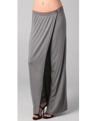 Kimberly Ovitz | Gray Canute Long Skirt | Lyst
