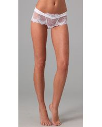Lise Charmel | White Magic Sexy Shorty Briefs | Lyst