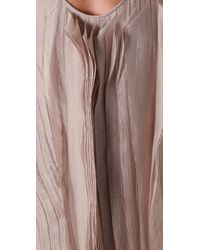 Max Azria | Natural Asymmetrical Long Dress | Lyst