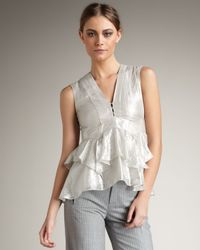 Nanette Lepore - White Ethereal Top - Lyst
