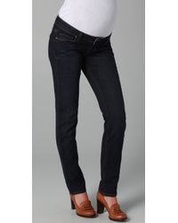 PAIGE | Blue Westbourne Jimmy Jimmy Maternity Jeans | Lyst