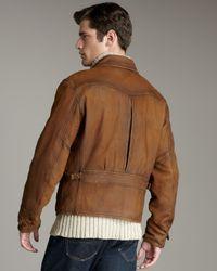 Polo Ralph Lauren Brown Delemar Reversible Newsboy Jacket for men
