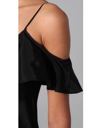 Twelfth Street Cynthia Vincent | Black Decolette Bias Maxi Dress | Lyst